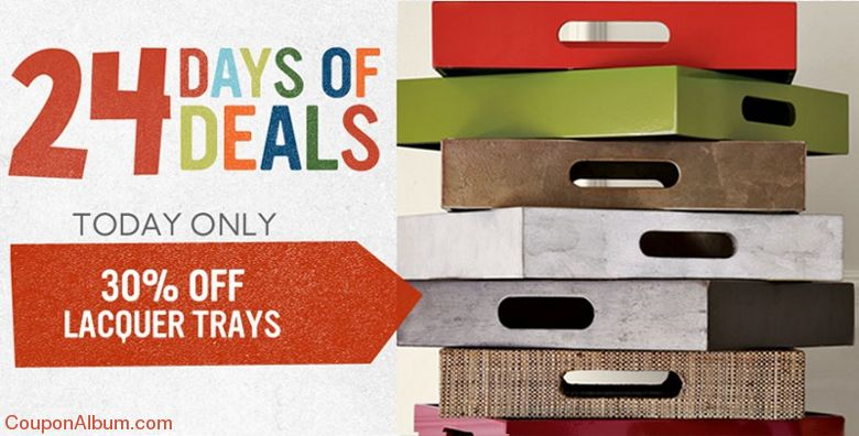 west elm 24 days of deals
