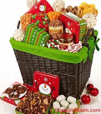 wintry wonder gift basket
