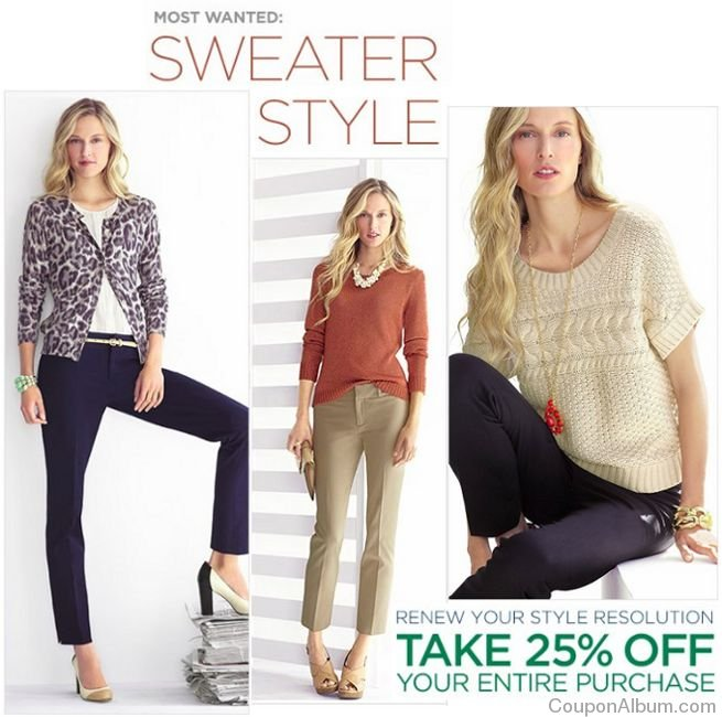 banana republic sweater styles