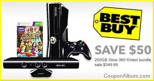 bestbuy xbox 360 kinect bundle deal