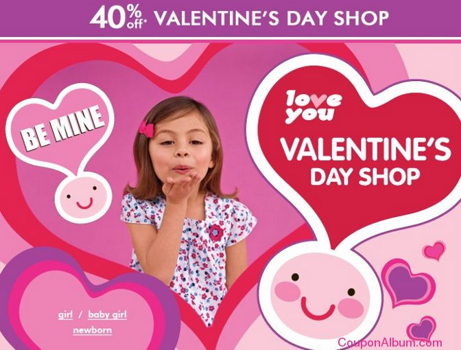 childrens place valentine special