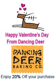 dancing deer valentines day offer