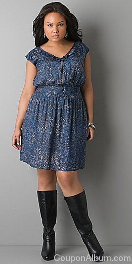 dkny jeans plus size dress