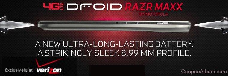 droid razr maxx lte smartphone