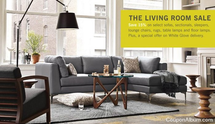 dwr the living room sale