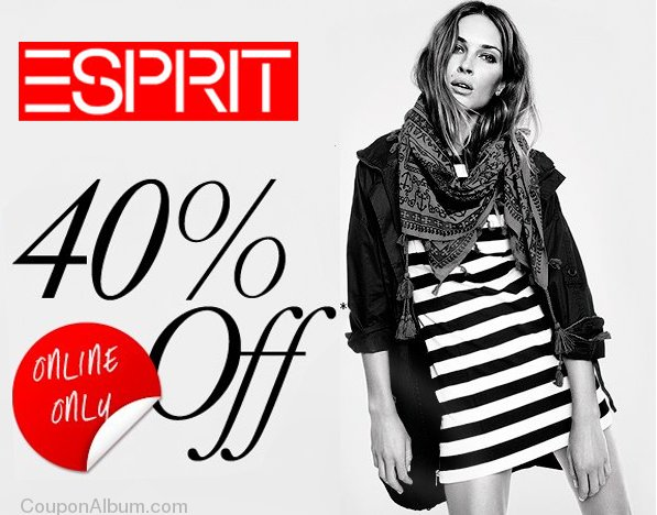 esprit hot online coupon