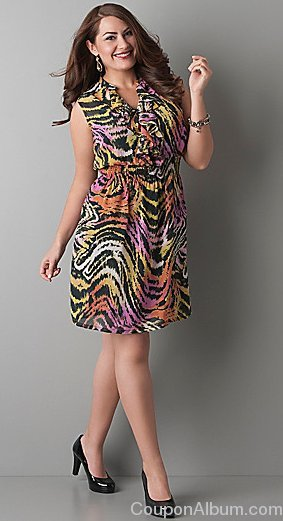 fashion bug plus size dress
