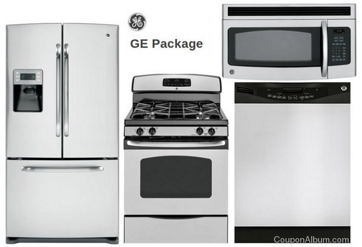 ge kitchen appliances package