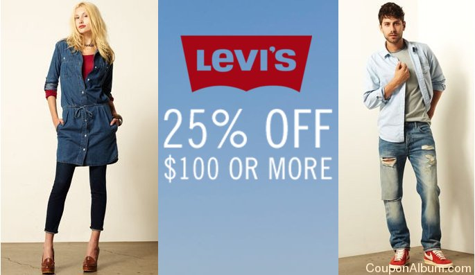 levis hot coupon