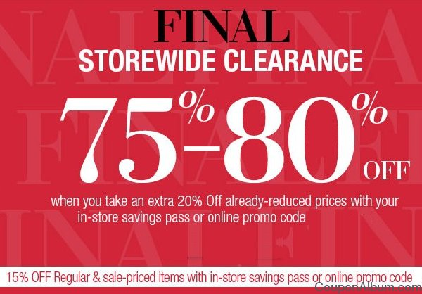 lord and taylor clearance sale
