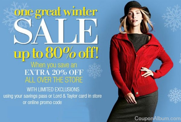 lord & taylor winter sale