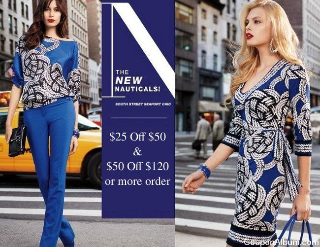 new york and company nautical collection