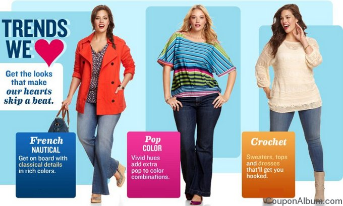 old navy plus size apparel