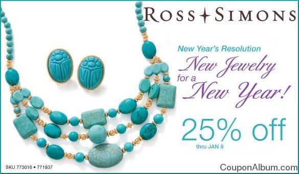 Ross simons coupon 25 off order online shopping blog for Ross simons jewelry store