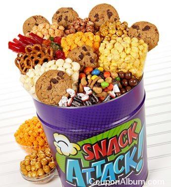 snack attack deluxe snack assortment