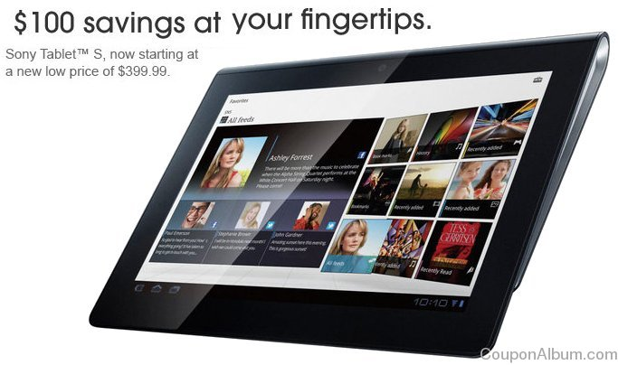 sony tablet s offer