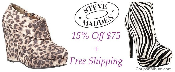steve madden shoes coupon