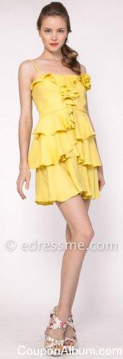 tiered mini dresses