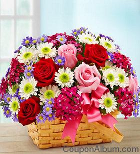 valentine day basket