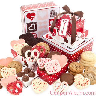 valentines day gift tin tower