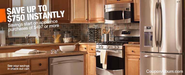 Home Depot Appliances Sale