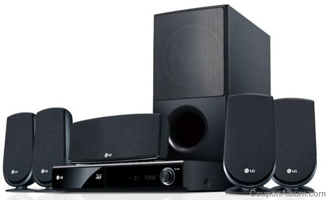 LG LHB306 Blu-ray Home Theater System