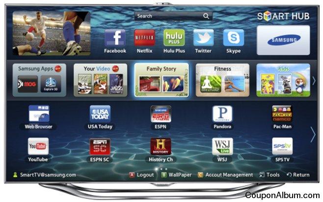 Samsung UN55ES8000 LED 3D Smart TV