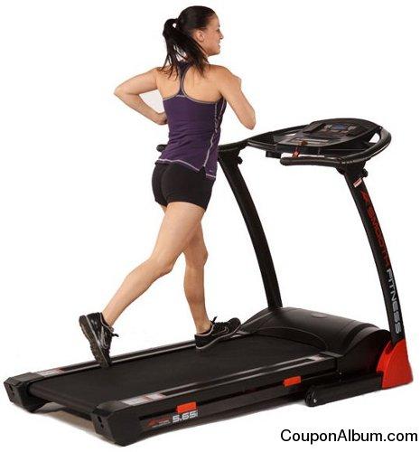 Smooth 5.65 Folding Treadmill