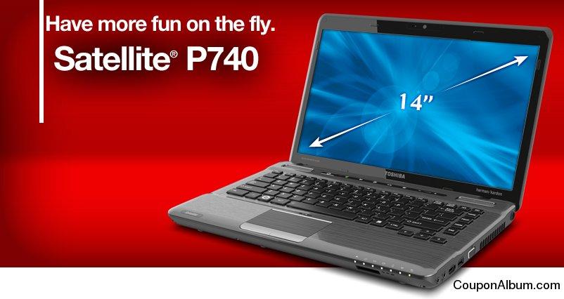 Toshiba Satellite P740 laptop