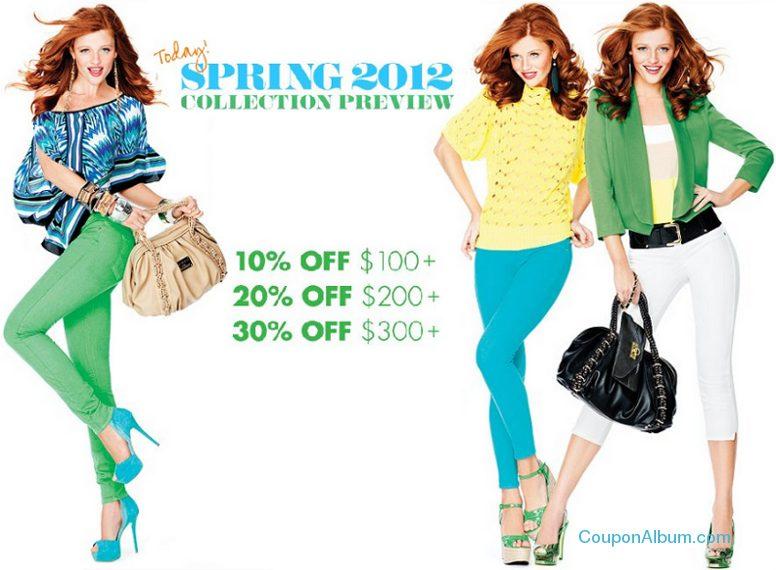 bebe spring savings