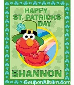 elmo saint patricks day puzzle