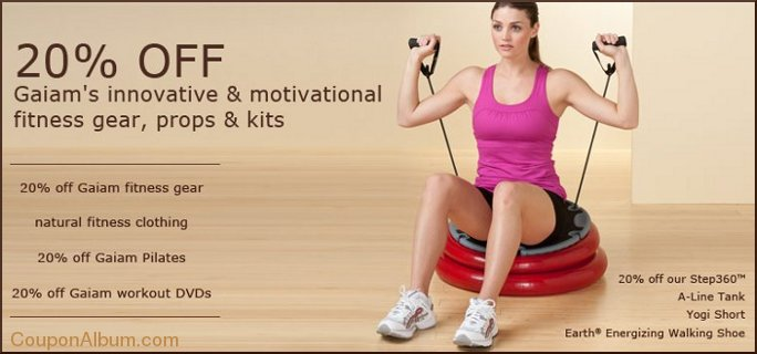 gaiam fitness gear