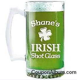 giant irish beer mug
