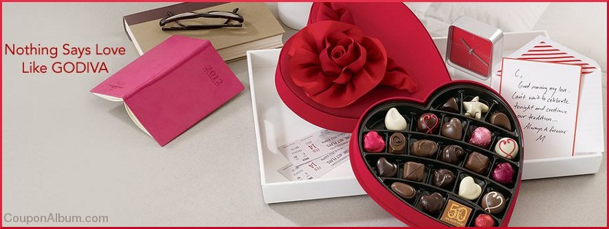 godiva valentines day chocolates