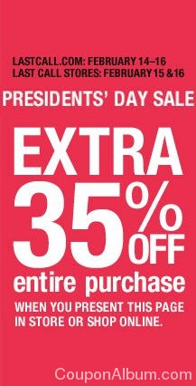 last call presidents day sale