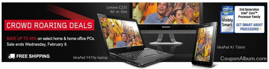 lenovo crowd roaring deals