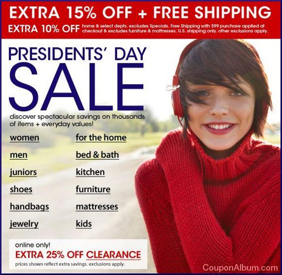macys presidents day sale