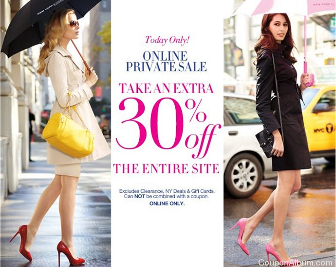 ny and company online private sale