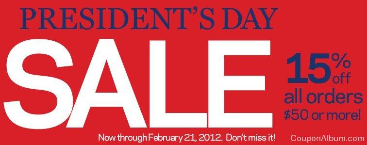 organize.com presidents day sale