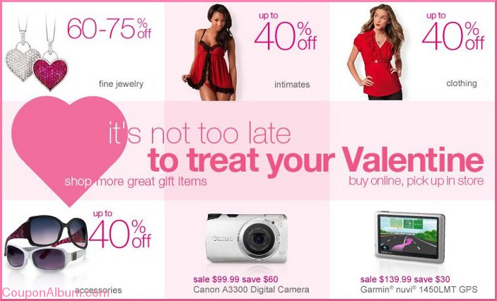 sears valentine gifts