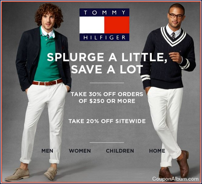 tommy hilfiger hot coupons