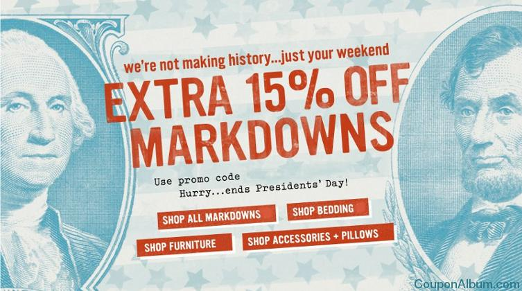west elm presidents day sale