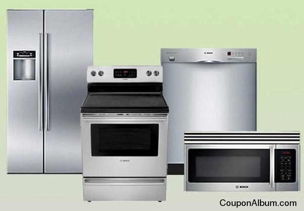 Bosch 4-Piece Stainless Steel Appliance Package