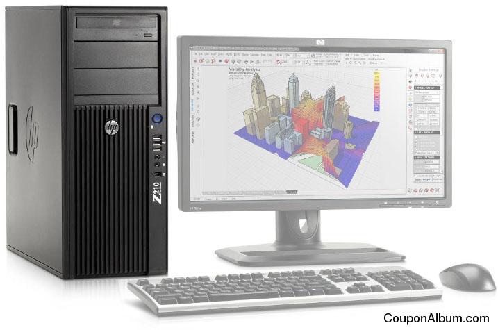 HP Z210 CMT