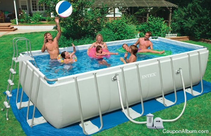 Intex Ultra Frame Rectangular Pool Set