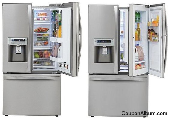 Kenmore Elite French-Door Grab-N-Go Bottom-Freezer Refrigerator