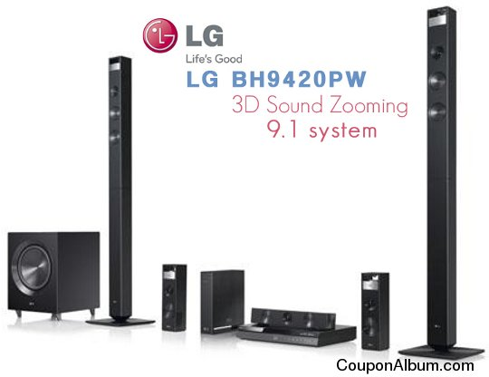 LG BH9420PW 3D Blu-ray Home Theater System