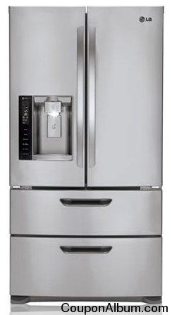 LG LMX25986ST French Door Refrigerator