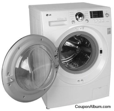 LG WM3455HW Washer Dryer Combo
