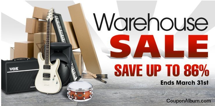 Musician's Friend Warehouse Sale